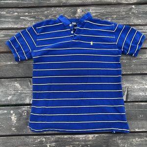 Striped blue Ralph Lauren Polo